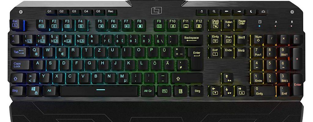 Amazon verkauft heute exzellente mechanische Tastatur von Lioncast für 62,95€
