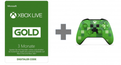 Xbox Live Gold + Controller