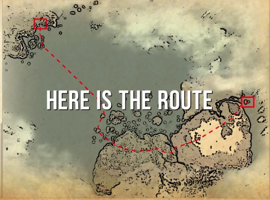 Black Desert Route