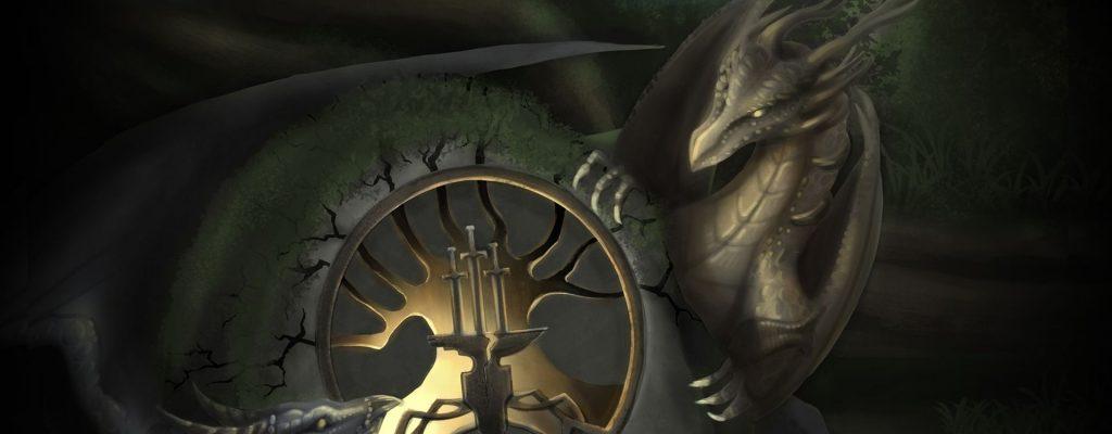 Camelot Unchained Drachen Wallpaper Titel