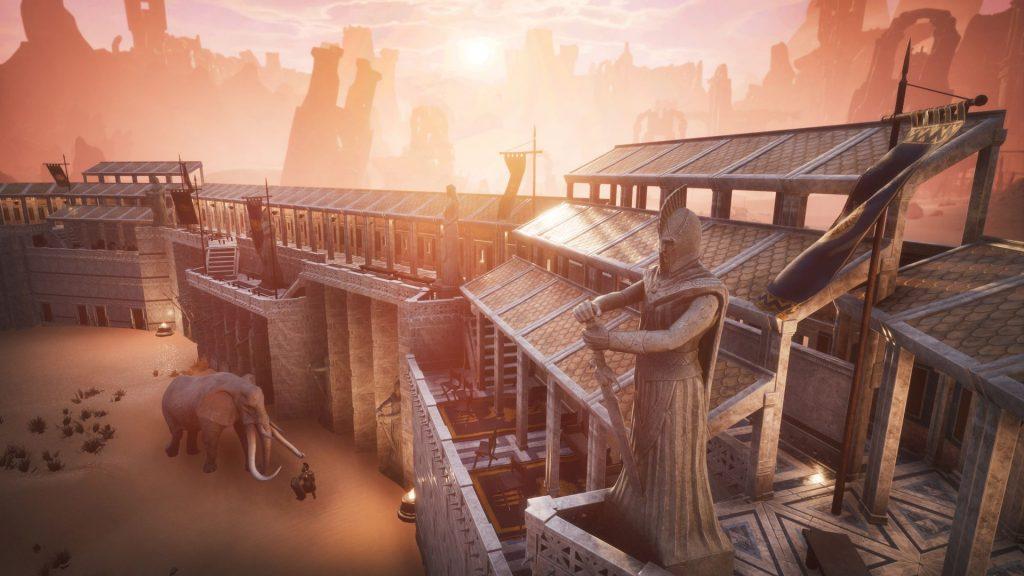 Conan Exiles Aquilonia DLC Römische Stadt