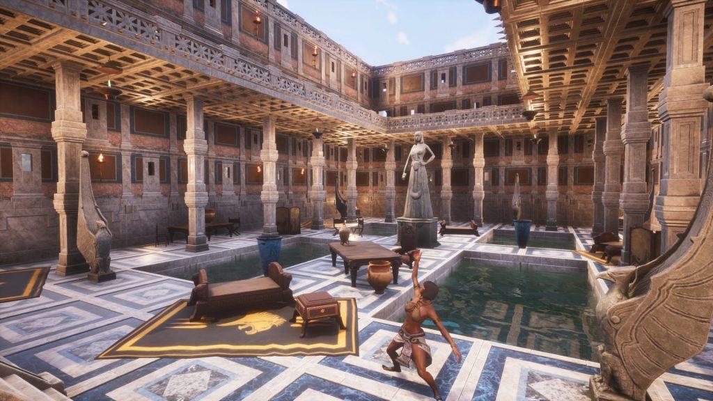 Conan Exiles Aquilonia DLC Römisches Badehaus