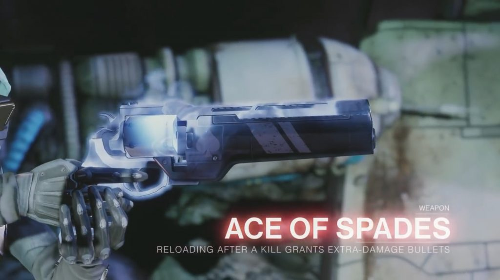 Destiny 2 Forsaken Ace of Spades