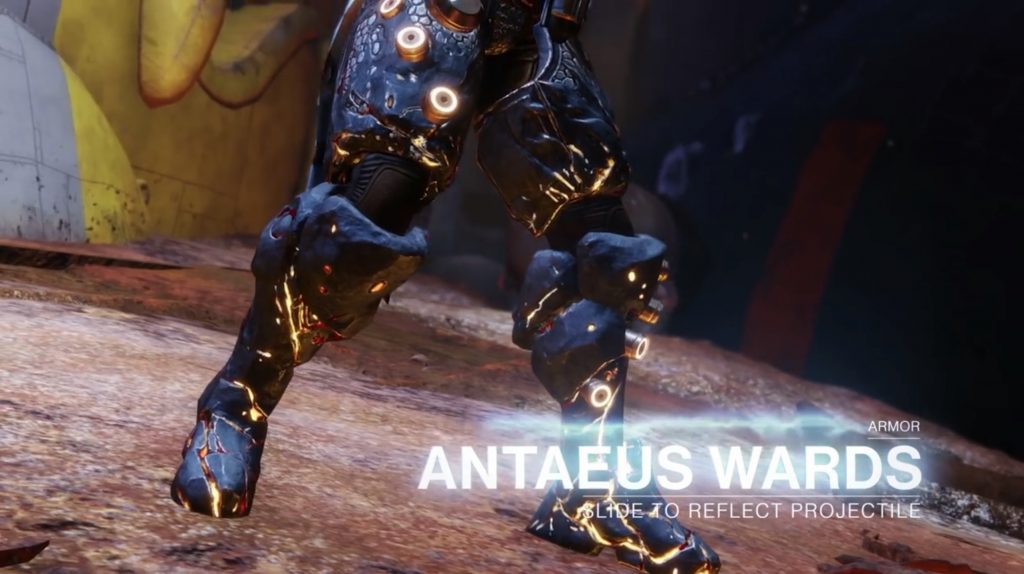 Destiny 2 Forsaken Antaeus Wards