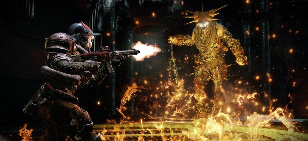 Destiny 2 Forsaken Baron vs Titan