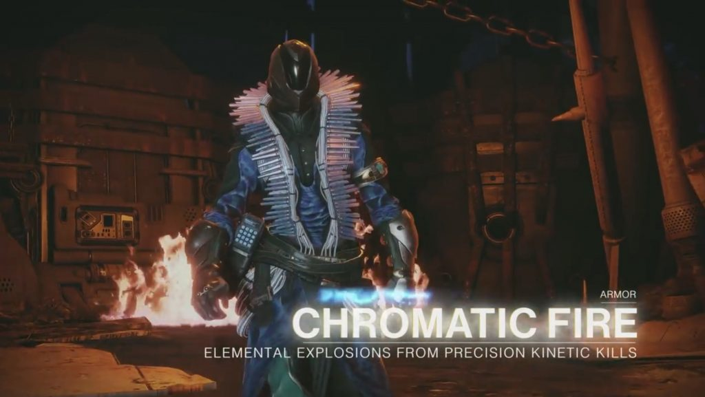 Destiny 2 Forsaken Chromatic Fire