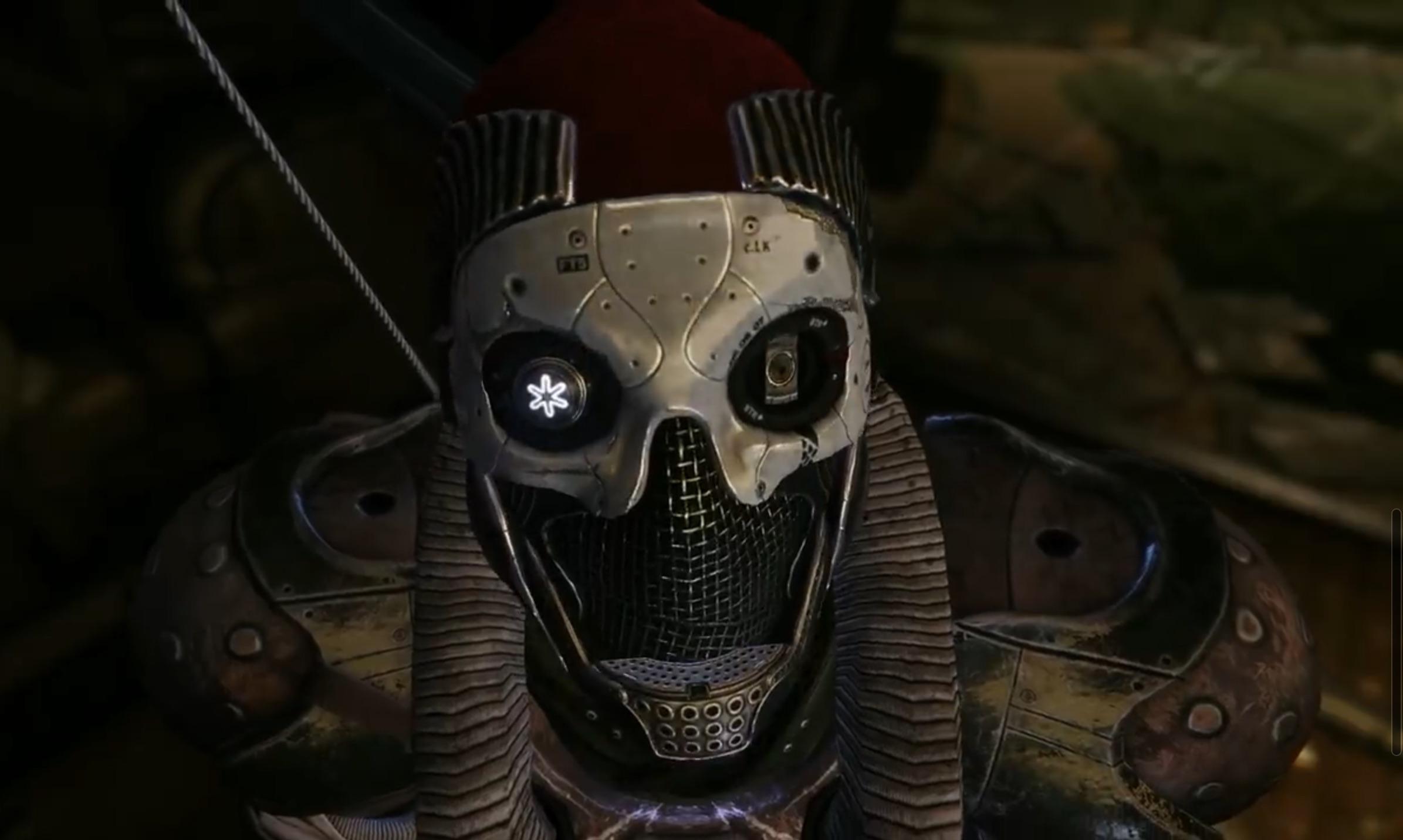 Destiny 2 Forsaken Exo Helmet