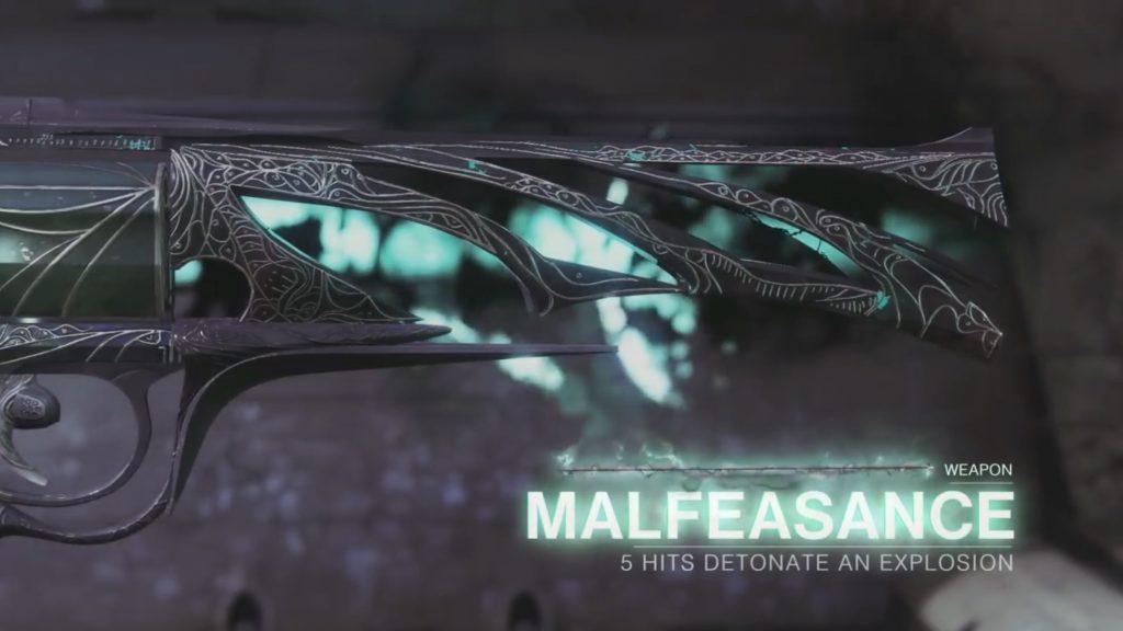 Destiny 2 Forsaken Malfeasance