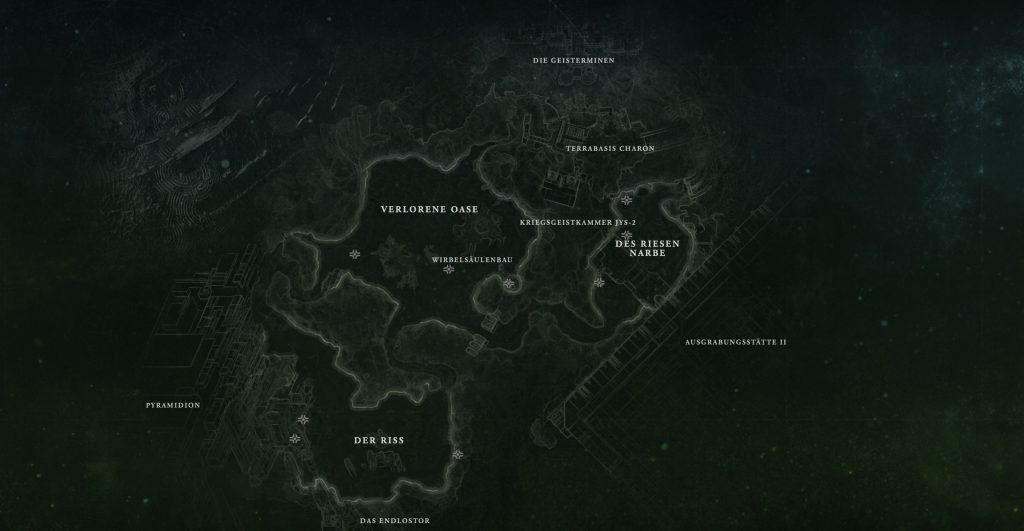 Destiny 2 IO Map