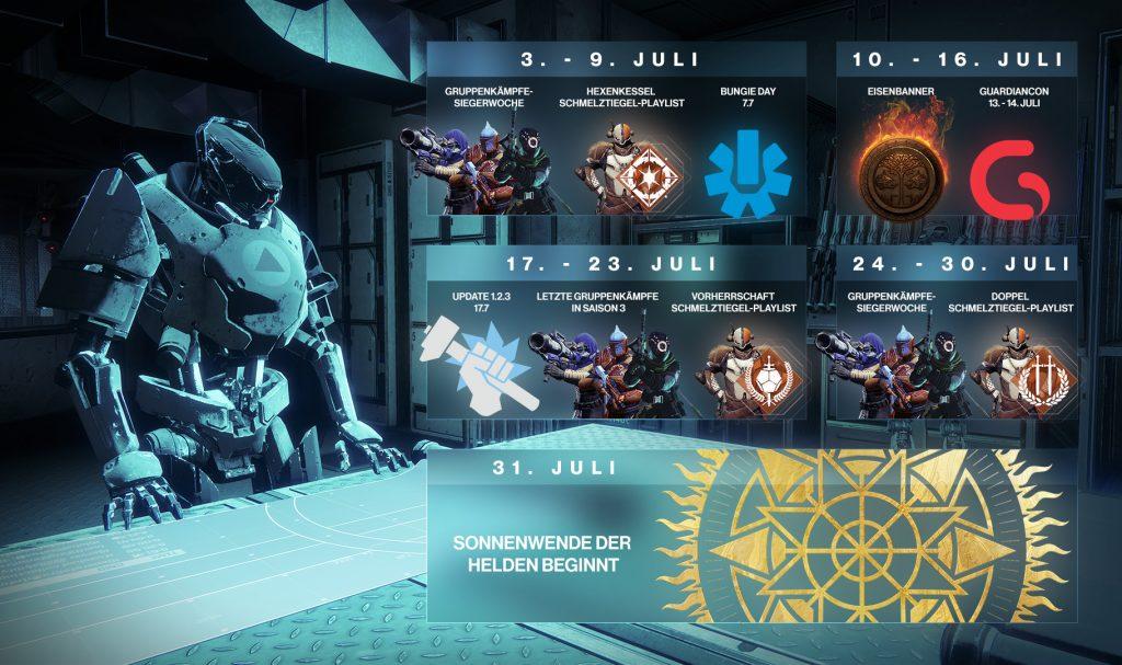 Destiny 2 Juli 2018