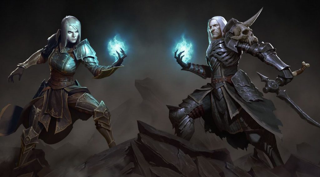 Diablo 3 Necromancer Background