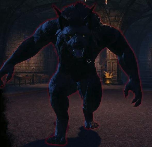 ESO Hulking Werewolf