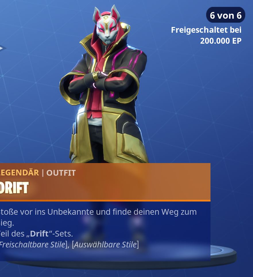 Fortnite-Drift