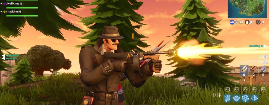 Das Trommelgewehr ist gerade die heißeste Waffe in Fortnite – auch Ninja liebt sie