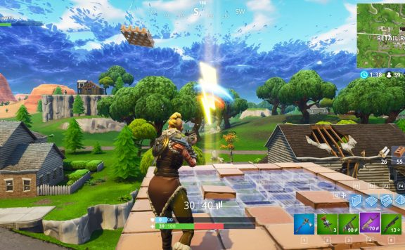 Fortnite Season 5 Blitze