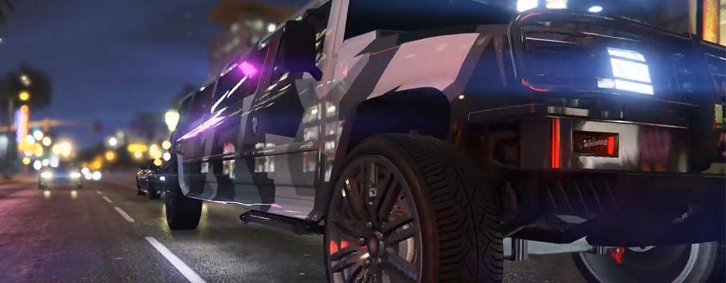 GTA 5 Nachtclub DLC Titel Limo