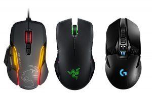 Die 3 besten Gaming Mäuse