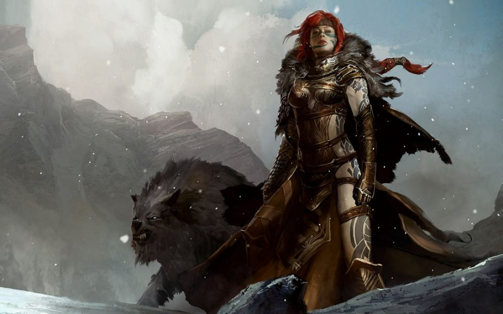 Guild-Wars-2-Frau-Panther