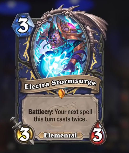 Hearthstone Boomsday Electra Stormsurge