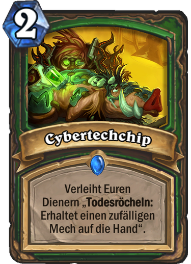 Hearthstone Cybertechchip
