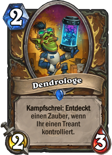 Hearthstone Dendrologe