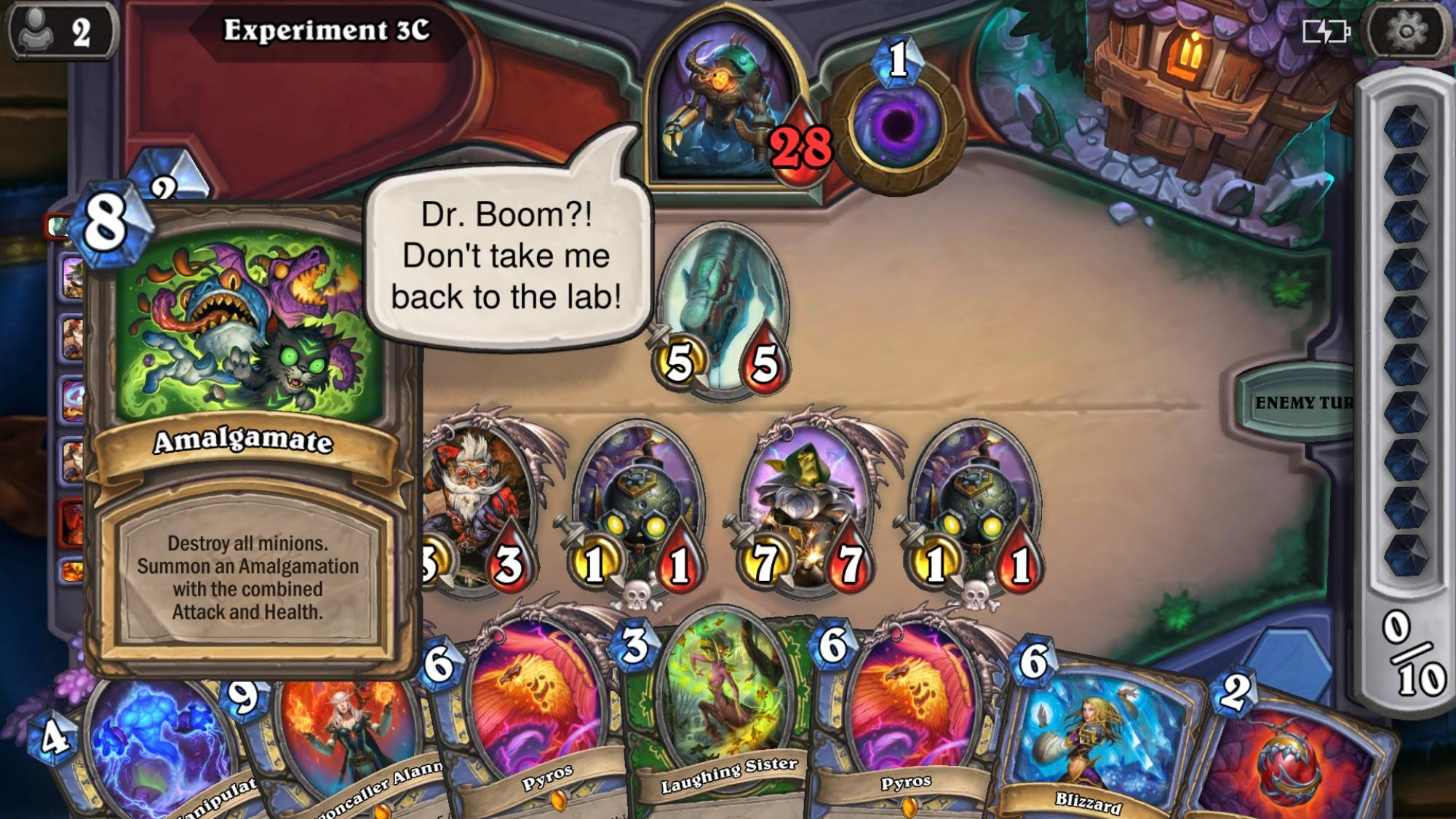 Hearthstone Dr Boom Foreshadowing