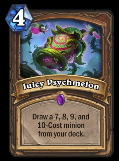 Hearthstone Juicy Psychmelon
