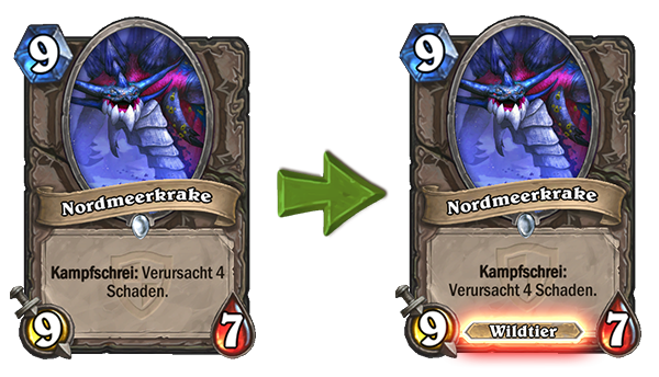 Hearthstone Kraken Change