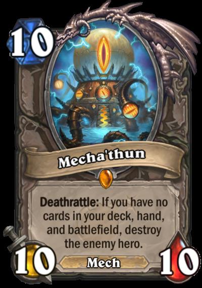 Hearthstone Mechathun