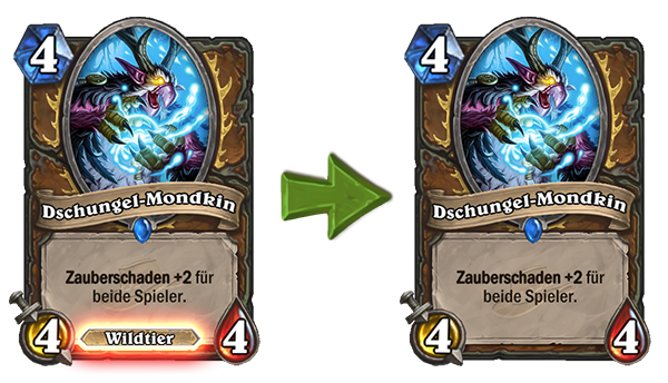 Hearthstone Moonkin Change