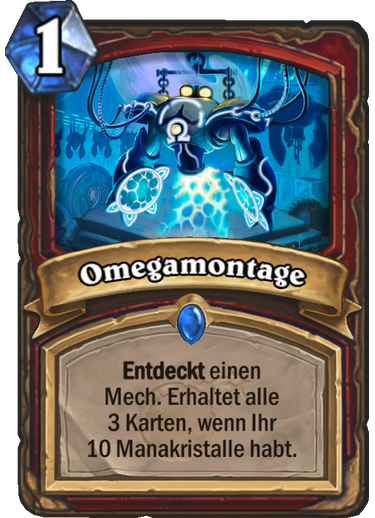 Hearthstone Omegamontage