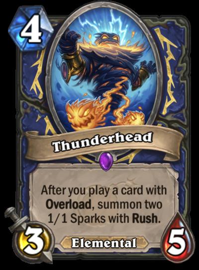 Hearthstone Thunderhead