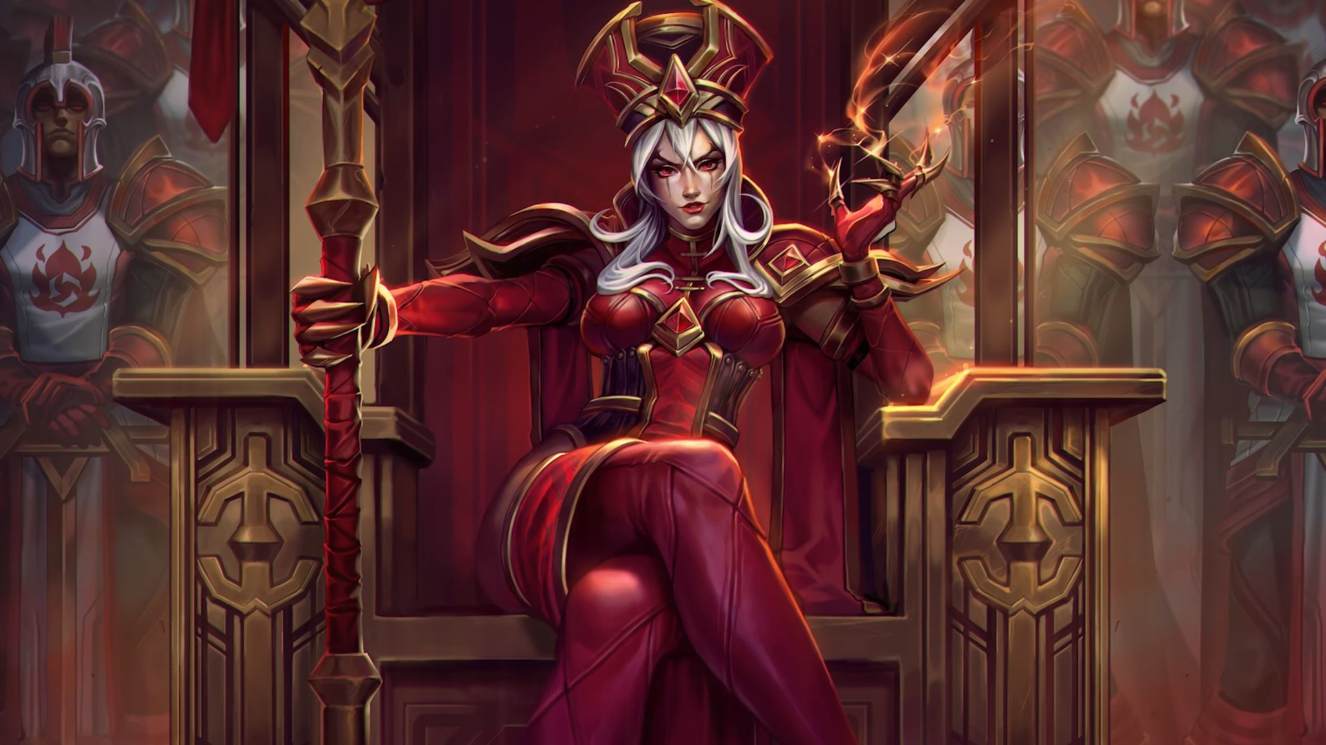 HotS Whitemane Full Artwork