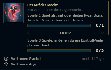 LoL Ryze in game Event