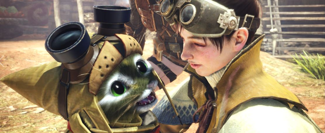 Monster-Hunter-World-Palico-Lachen
