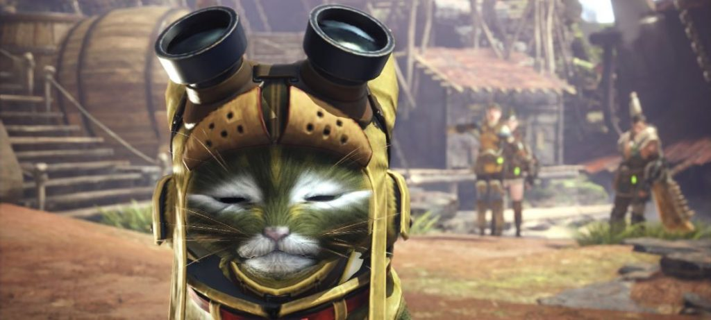 Monster-Hunter-World-Palico-Not-Amused
