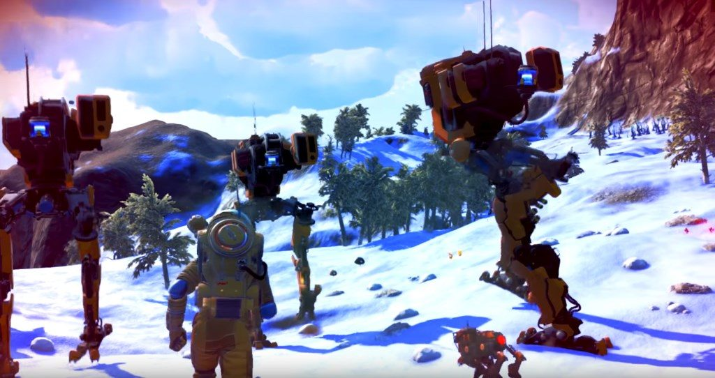 No Mans Sky Next Mechs