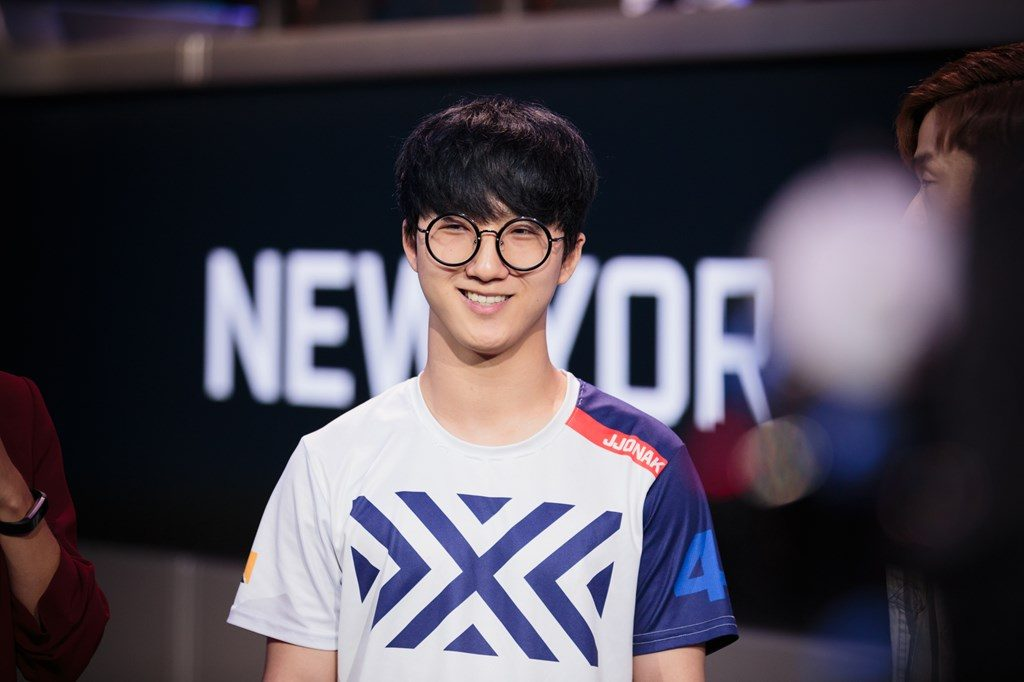 Overwatch League NYXL JJonak happy