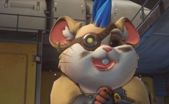 Overwatch Screenshot Wrecking Ball Highlight Intro Kuckuck Titel