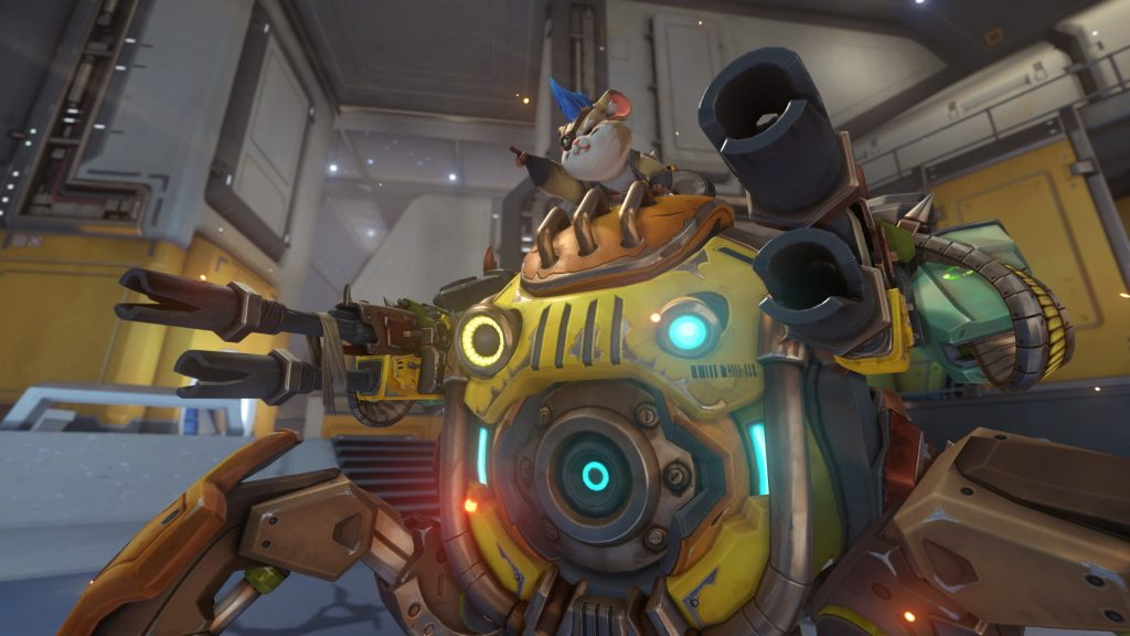 overwatch wreckingball greift an
