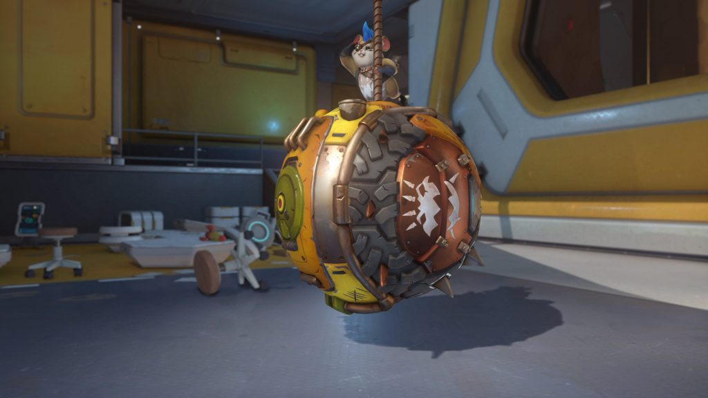 Overwatch Screenshot Wrecking Ball Pose Abrissbirne