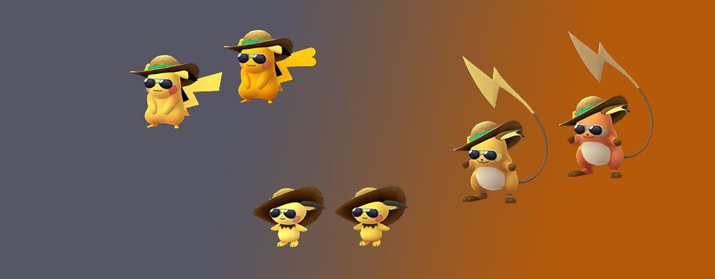 Pikachu Familie Shiny