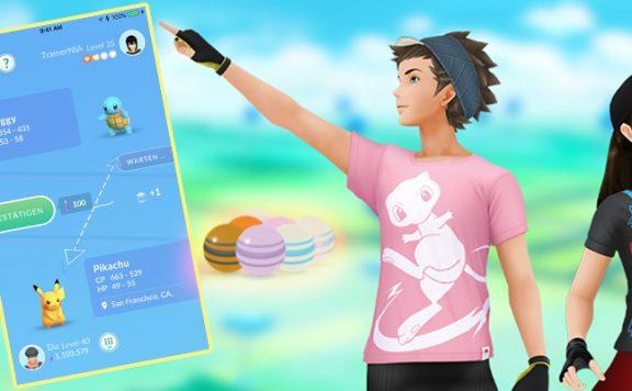 Pokémon GO Bonbons Titel