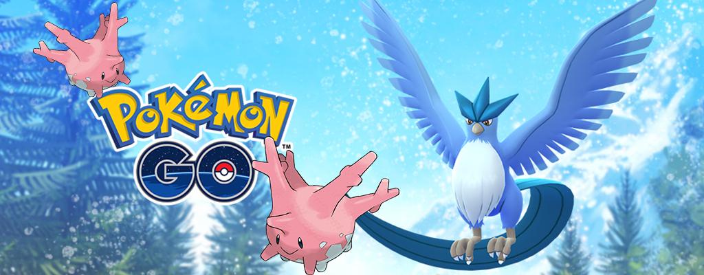 Pokémon GO Corasonn Arktos Titel