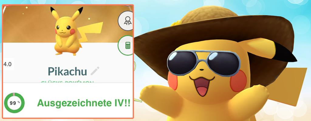 Pokémon GO: Keine Angst, Lucky-Pokémon haben gute IV-Werte