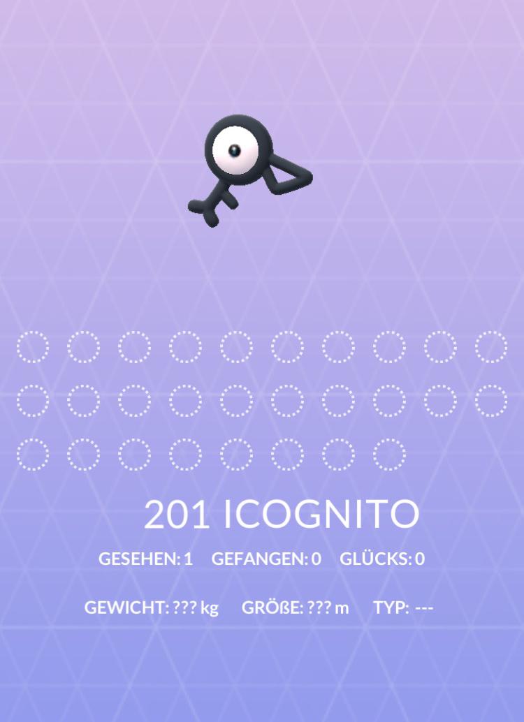 Pokemon Icognito