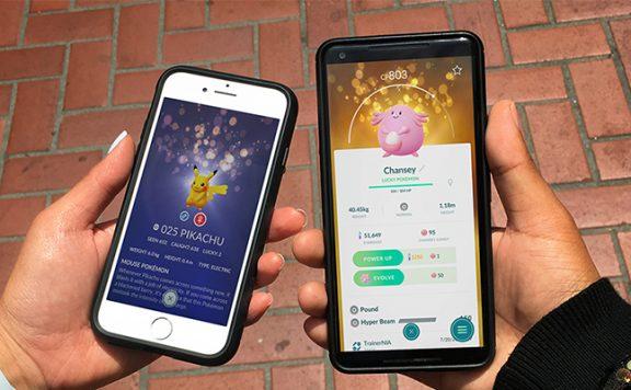 Pokémon GO Lucky Titel