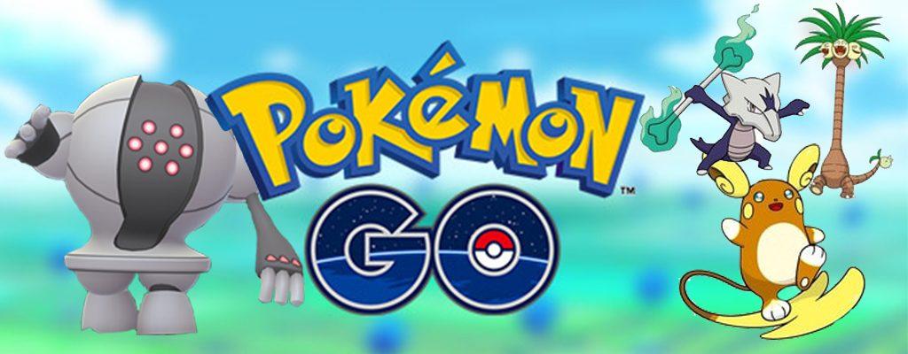 Pokémon GO Raidbosse Juli Titel