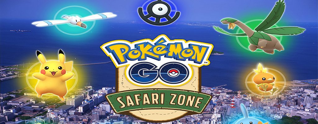 Pokémon GO Safari Japan