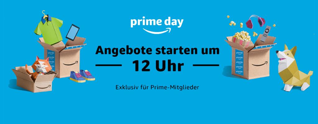 Gleicht geht's los! Vorab die besten Deals zum Amazon Prime Day 2018